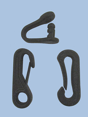 IMPI Snap clips, rope-hole clips and D-Shackles